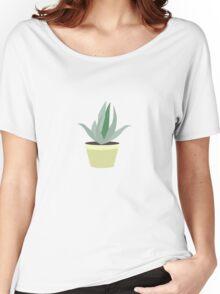 Succulent V1 Women's Relaxed Fit T-Shirt