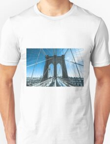 NY Brooklyn Blue Unisex T-Shirt
