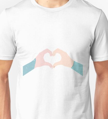 Best Sisters Heart Hand Unisex T-Shirt