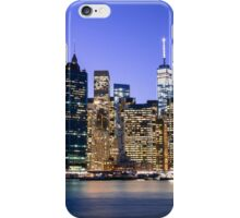 NY City Blue iPhone Case/Skin