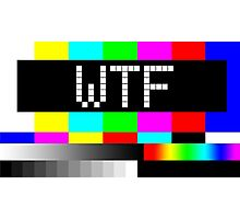 WTF TV Photographic Print