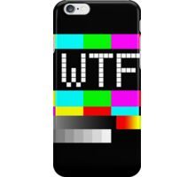 WTF TV iPhone Case/Skin