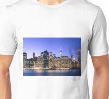 NY City Blue Unisex T-Shirt