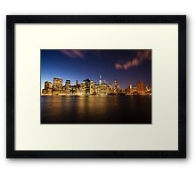 Beautiful New York Framed Print
