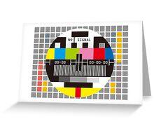 No Signal No signal No signal Greeting Card