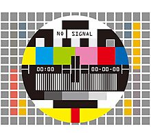 TV Photographic Print