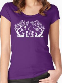 Twilight Teatime Women's Fitted Scoop T-Shirt
