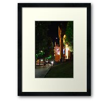 Nightlife at the Capital  Framed Print