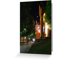 Nightlife at the Capital  Greeting Card