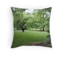 not so lonely anymore Throw Pillow