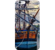 Captain Cook's HMB Endeavour iPhone Case/Skin