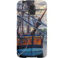Captain Cook's HMB Endeavour Samsung Galaxy Case/Skin
