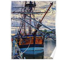 Captain Cook's HMB Endeavour Poster