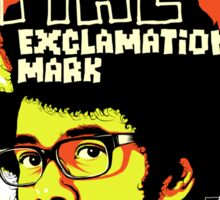 Fire Exclamation Mark Sticker