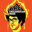 Fire Exclamation Mark by butcherbilly