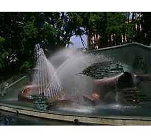 Captain Cook Memorial Fountain Photographic Print