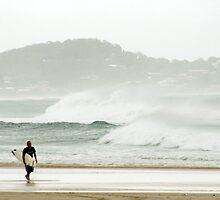 Kirra Surfer by Angela Criss