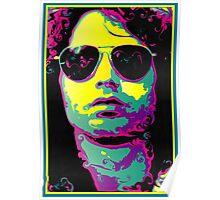 ROCK GOD - bright colors Poster