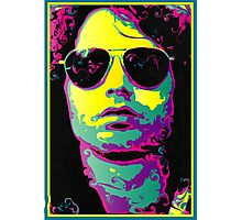 ROCK GOD - bright colors Photographic Print