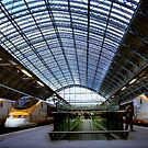 eurostar terminal at st. pancras station by opiumfire