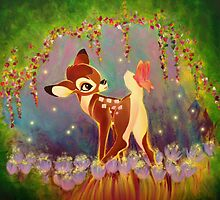Bambi Painting by Ryan Rydalch