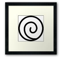 Uzumaki Clan Framed Print