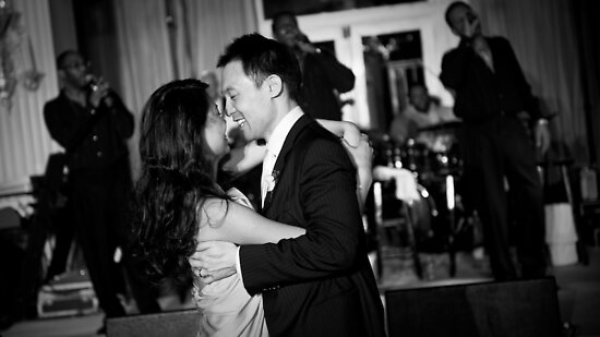 A wedding in Los Angeles by Hien Nguyen