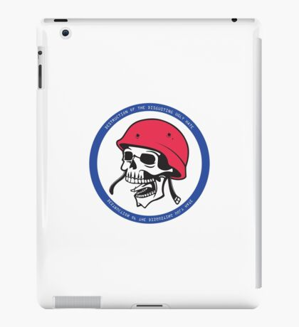 Destruction of the disgusting ugly hate iPad Case/Skin