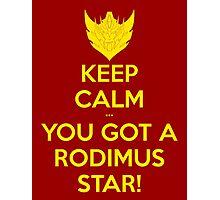 You Got A Rodimus Star! Photographic Print