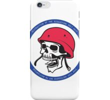 Destruction of the disgusting ugly hate iPhone Case/Skin