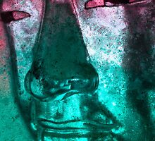 Buddha Face cyanred by Marco  Fischer