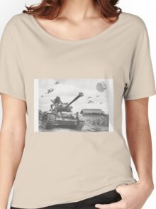 A Wing X Fing WWII Fly Over Women's Relaxed Fit T-Shirt