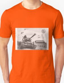 A Wing X Fing WWII Fly Over T-Shirt