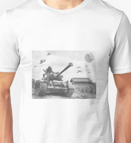 A Wing X Fing WWII Fly Over Unisex T-Shirt