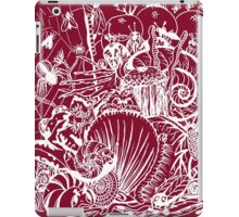 Biodiversity Aussie Tangle in White (choose your own colour background - see description notes). iPad Case/Skin