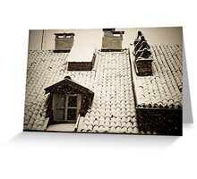 Neige Greeting Card