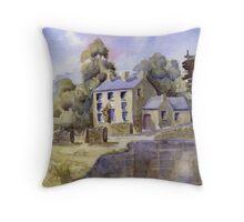 Tissington, Derbyshire Throw Pillow