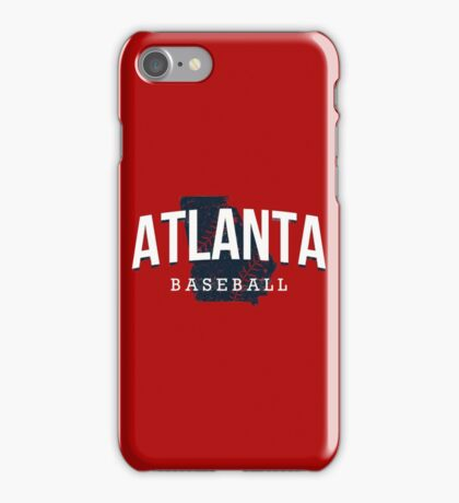 Atlanta Pride - Baseball iPhone Case/Skin