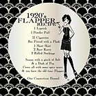 Gatsby Girl Recipe To Be A 1920s Flapper Girl (in black silver & pearl) by CecelyBloom