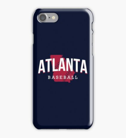 Atlanta Pride - Baseball 2 iPhone Case/Skin