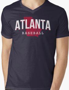 Atlanta Pride - Baseball 2 Mens V-Neck T-Shirt