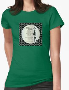 Gatsby Girl Recipe To Be A 1920s Flapper Girl (in black silver & pearl) T-Shirt