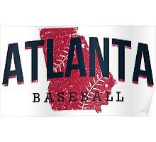Atlanta Pride - Baseball 3 Poster