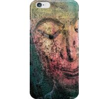 Buddha Face redish iPhone Case/Skin