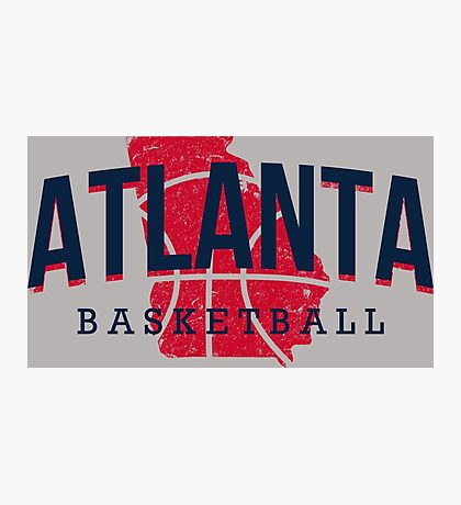 Atlanta Pride - Basketball Photographic Print