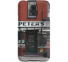 Peter's Bodega in the Lower East Side - Kodachrome Postcards  Samsung Galaxy Case/Skin