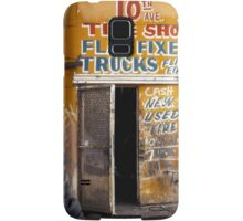 10th Avenue Tire Shop in the West Village - Kodachrome Postcards of vintage store signs in NYC  Samsung Galaxy Case/Skin