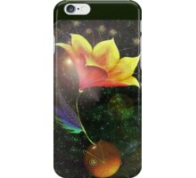 Lily in space iPhone Case/Skin