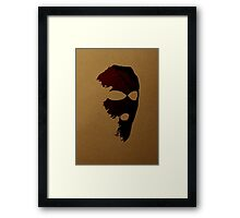 Criminal Concept | Five Framed Print