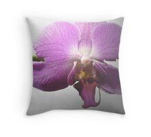 Single Blossom © Throw Pillow